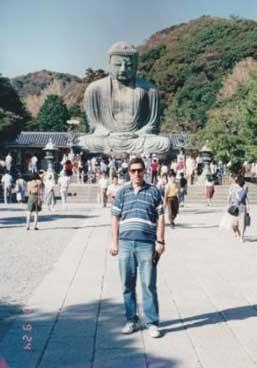 Japon misafirlerle Efes harabelerinde. 1991.